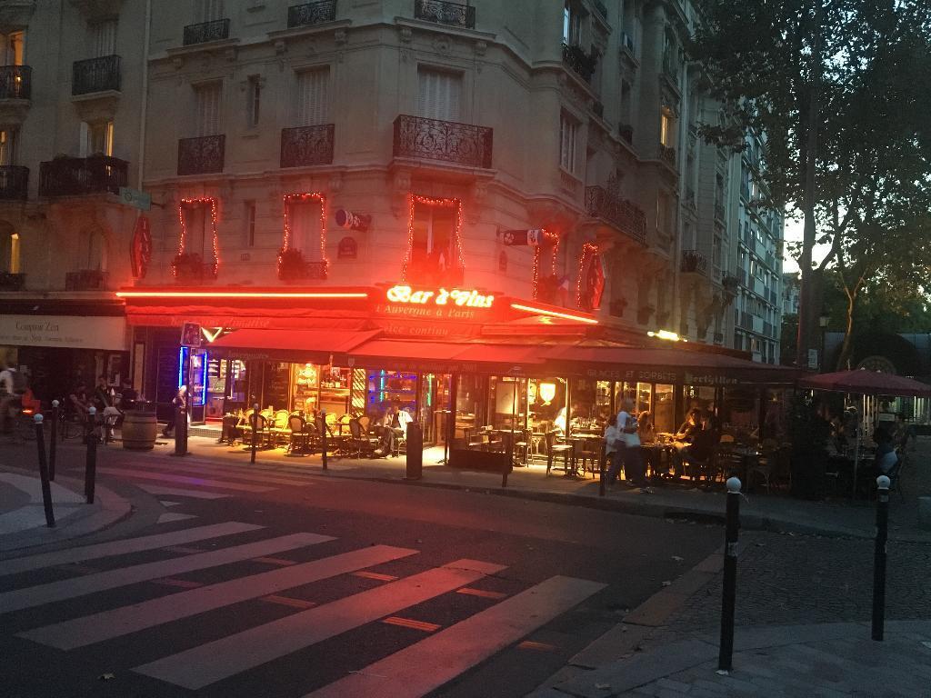 Restaurant Paris  Rue De Vaugirard