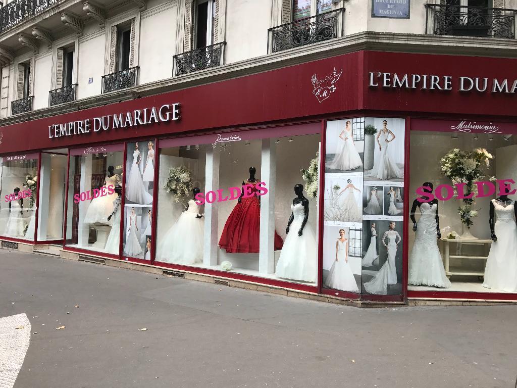 Magasin robe de mariee boulevard magenta paris
