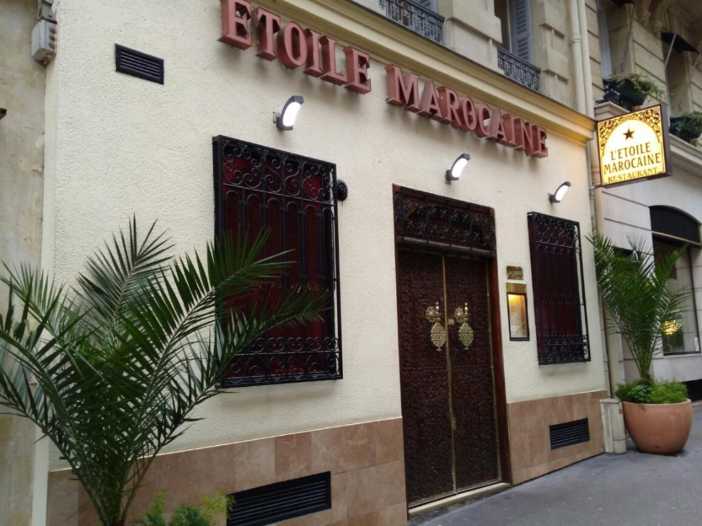 l 39 etoile marocaine restaurant 56 rue galil e 75008 paris adresse horaire. Black Bedroom Furniture Sets. Home Design Ideas