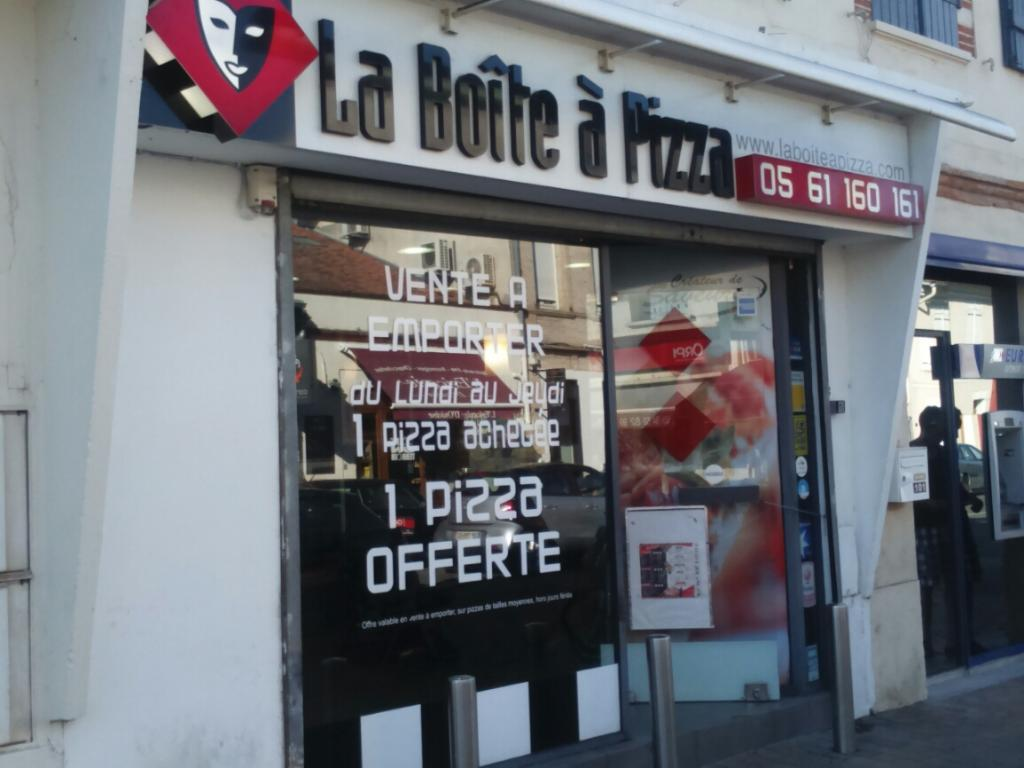 la bo te pizza restaurant 101 rue gaston doumergue 31170 tournefeuille adresse horaire. Black Bedroom Furniture Sets. Home Design Ideas