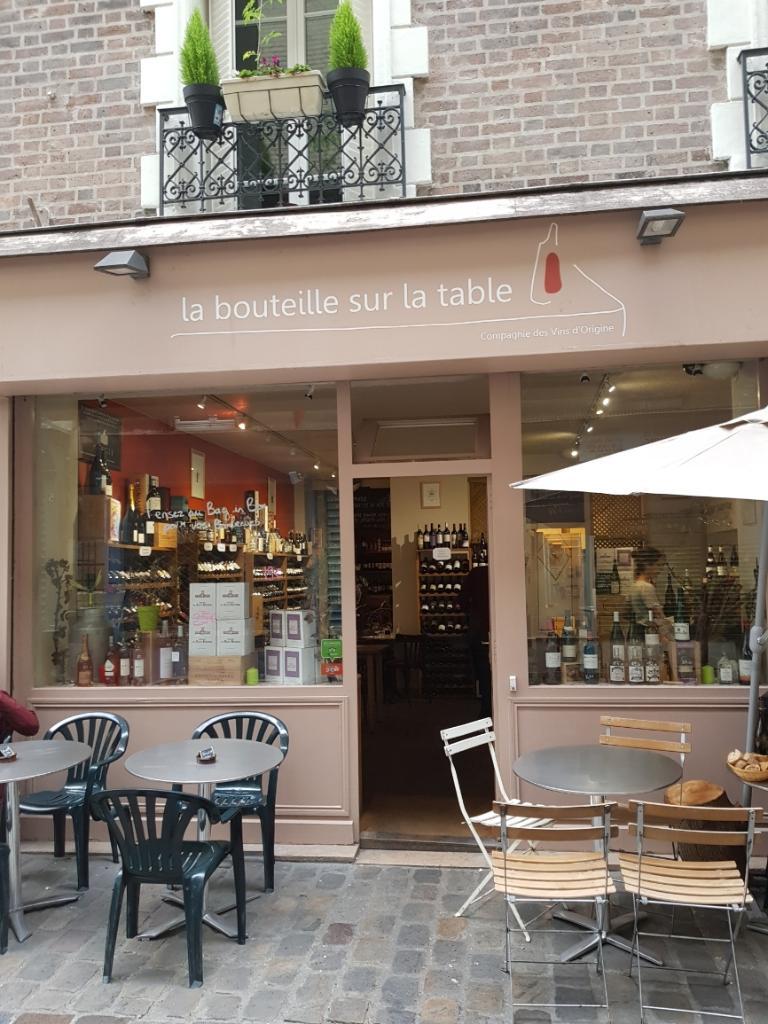 La bouteille sur la table restaurant 2 passage geffroy didelot 75017 paris adresse horaire - La bouteille sur la table ...