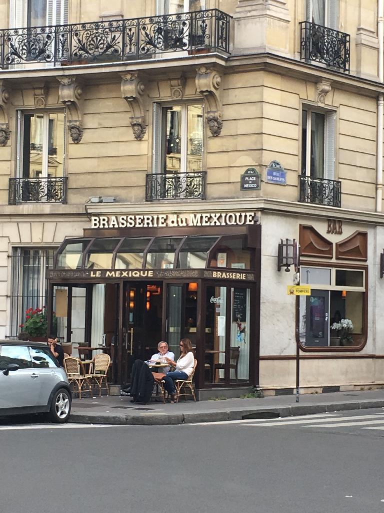 La brasserie du mexique restaurant 3 place de mexico 75016 paris adresse horaire - Brasserie porte de versailles ...