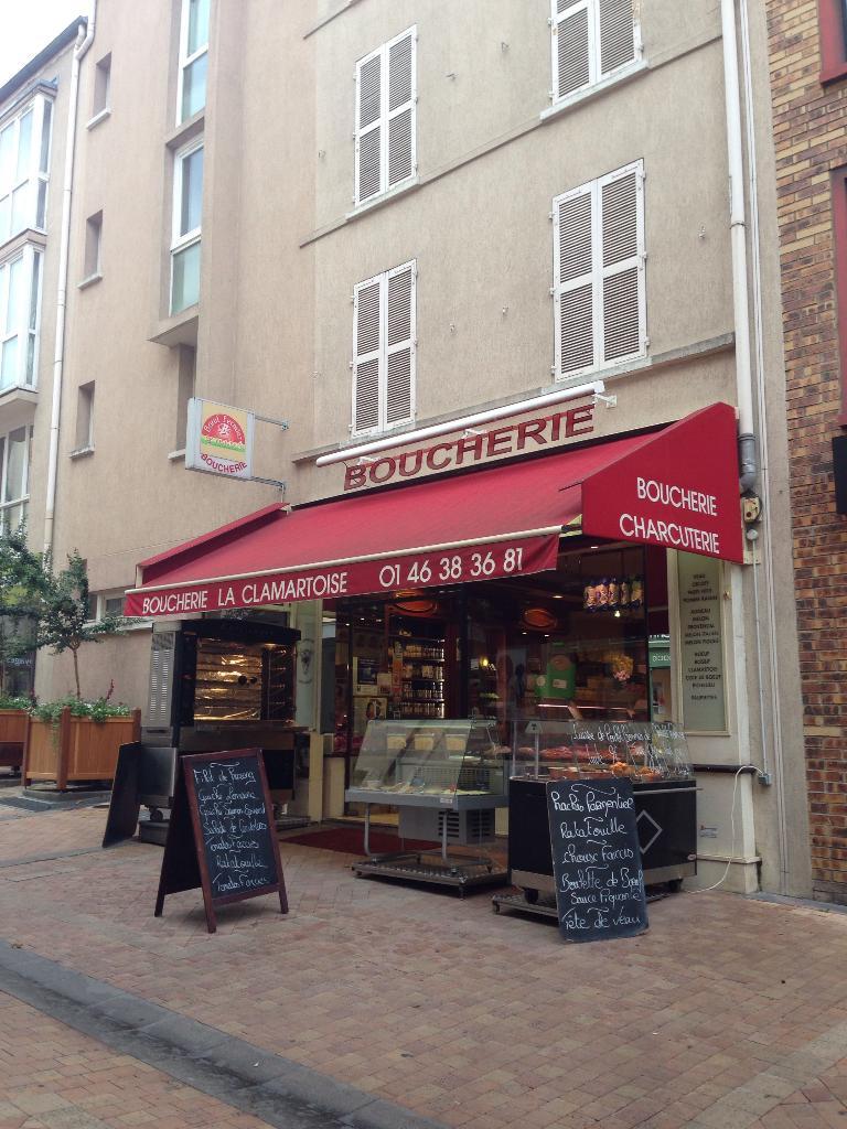 La clamartoise boucherie charcuterie 19 avenue jean for Garage bobigny avenue jean jaures