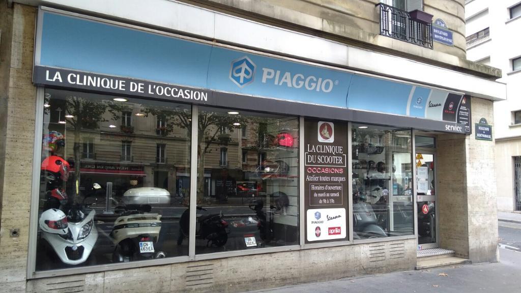 la clinique du scooter agent concessionnaire motos et scooters 148 boulevard du montparnasse. Black Bedroom Furniture Sets. Home Design Ideas