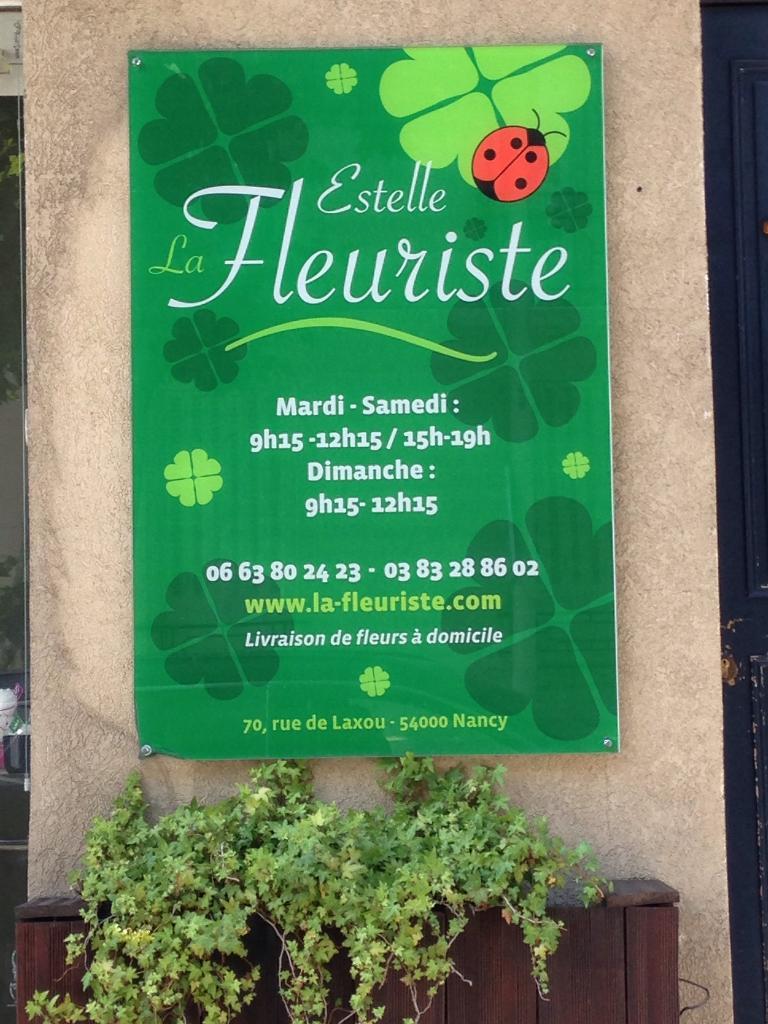 La fleuriste estelle fleuriste 70 rue laxou 54000 nancy for Fleuriste dimanche