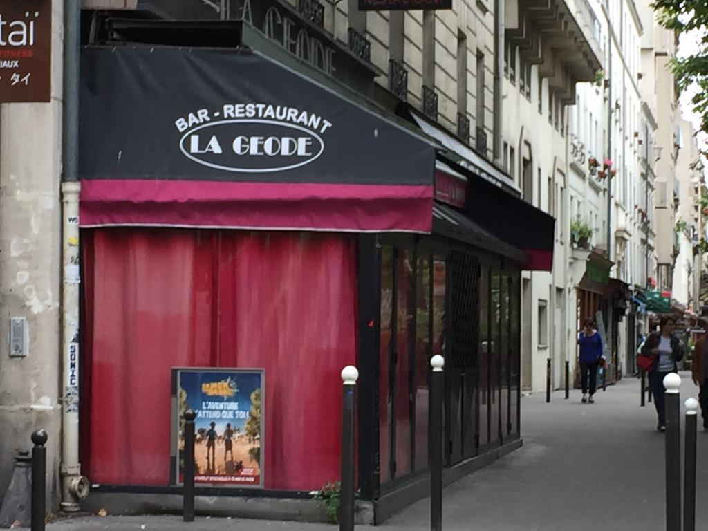 La geode restaurant 145 avenue jean jaur s 75019 paris for Garage bobigny avenue jean jaures