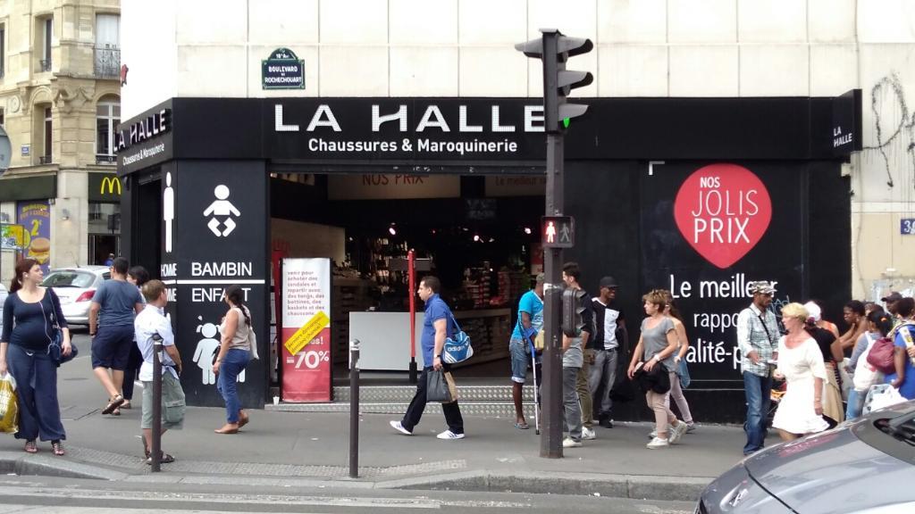 La Aux Chaussures36 Halle Paris Rochechouart75018 Bd Magasin OPukiwZTX