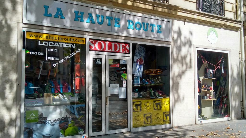 la haute route magasin de sport 33 boulevard henri iv 75004 paris adresse horaire. Black Bedroom Furniture Sets. Home Design Ideas