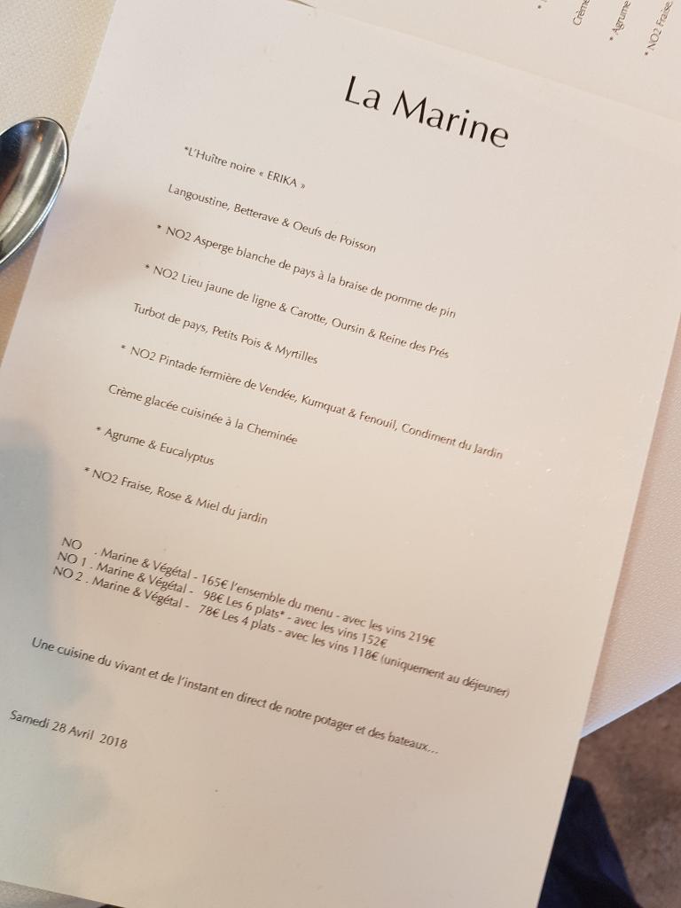 Restaurant La Marine Restaurant 3 Rue Marie Lemonnier 85330
