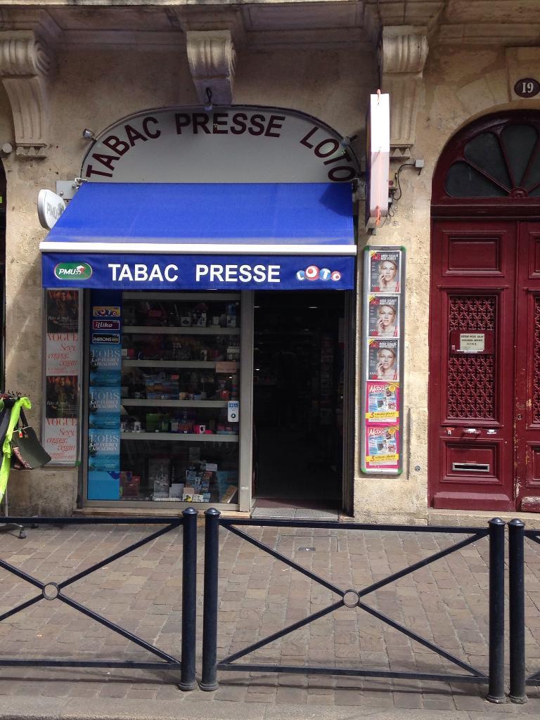 La perdrix bureau de tabac 19 rue juda que 33000 bordeaux adresse horaire - Horaires bureau de tabac ...
