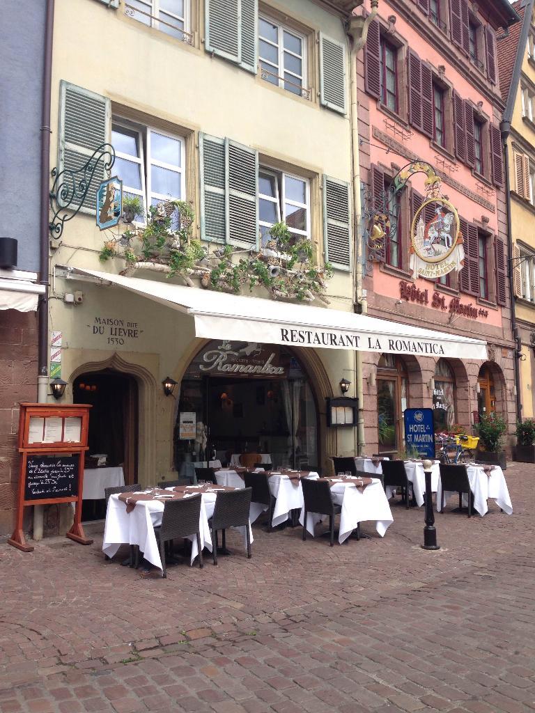 La romantica restaurant 40 grand 39 rue 68000 colmar adresse horaire - Horaire castorama colmar ...