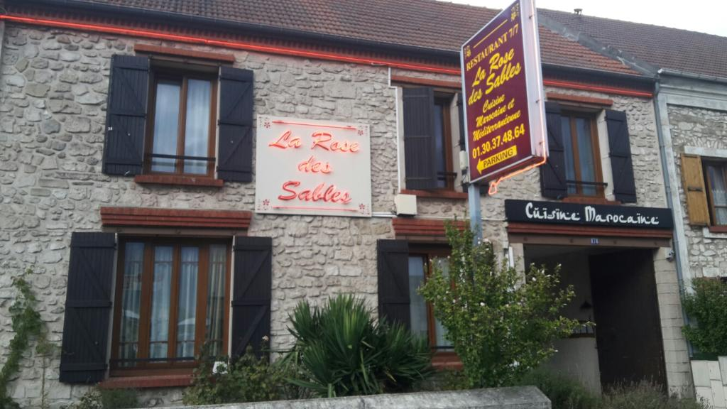 La Rose Des Sables Pierrelaye Restaurant Adresse Horaires Avis
