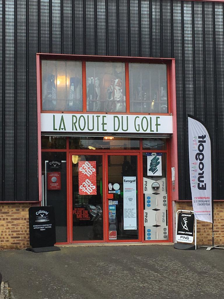 la route du golf magasin de sport 110 rue eug ne. Black Bedroom Furniture Sets. Home Design Ideas