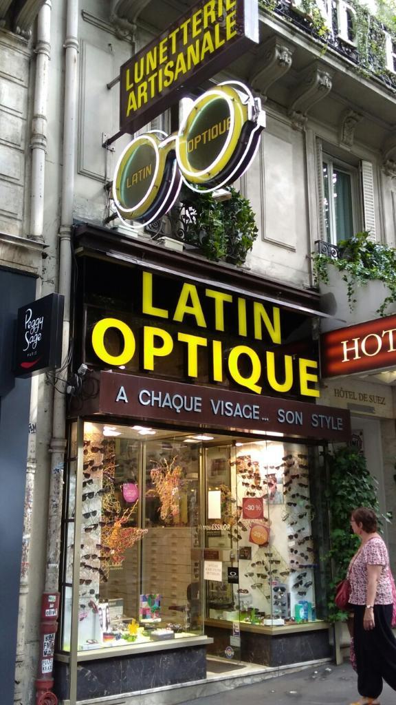 6f4458b2d930b7 Latin Optique - Opticien, 31 boulevard Saint Michel 75005 Paris ...