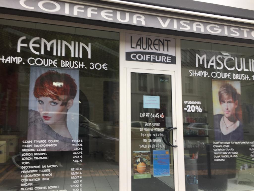 Laurent Coiffure Coiffeur 63 Rue Paul Guieysse 56100 Lorient