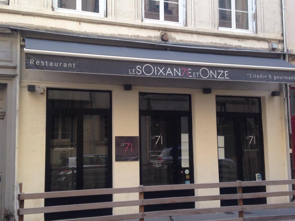 Le 71 - Restaurant, 71 rue Ména 69006 Lyon - Adresse, Horaire Le Comptoir Lyon on
