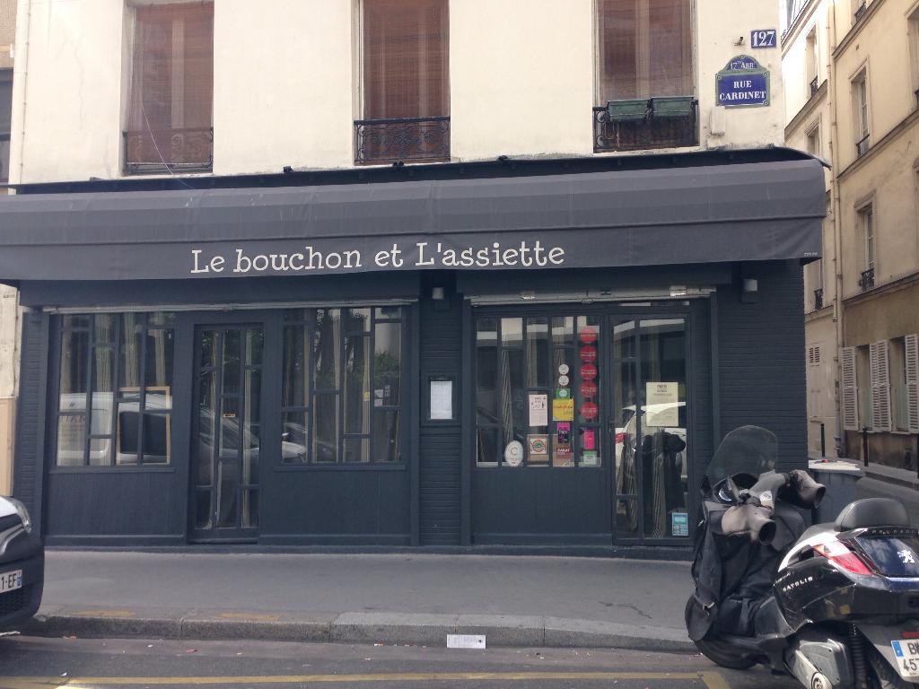 Le Bouchon Et L\'Assiette - Restaurant, 127 rue Cardinet 75017 Paris ...