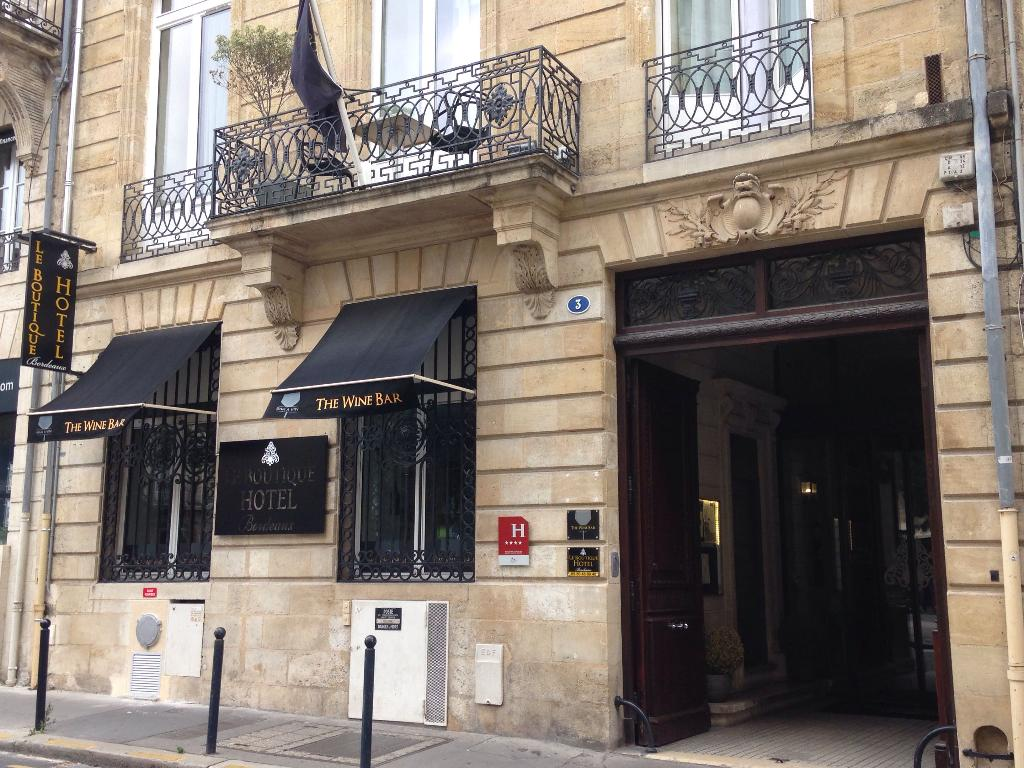Le boutique hotel bordeaux h tel 3 rue lafaurie de for Le boutique hotel bordeaux