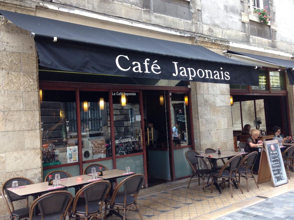 Carte Cafe Japonais Bordeaux.Le Cafe Japonais Bordeaux Cafe Bar Adresse Horaires