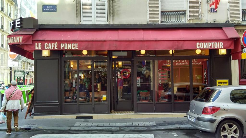 Le caf ponce restaurant 17 rue poncelet 75017 paris for 5 rue belidor 75017 paris