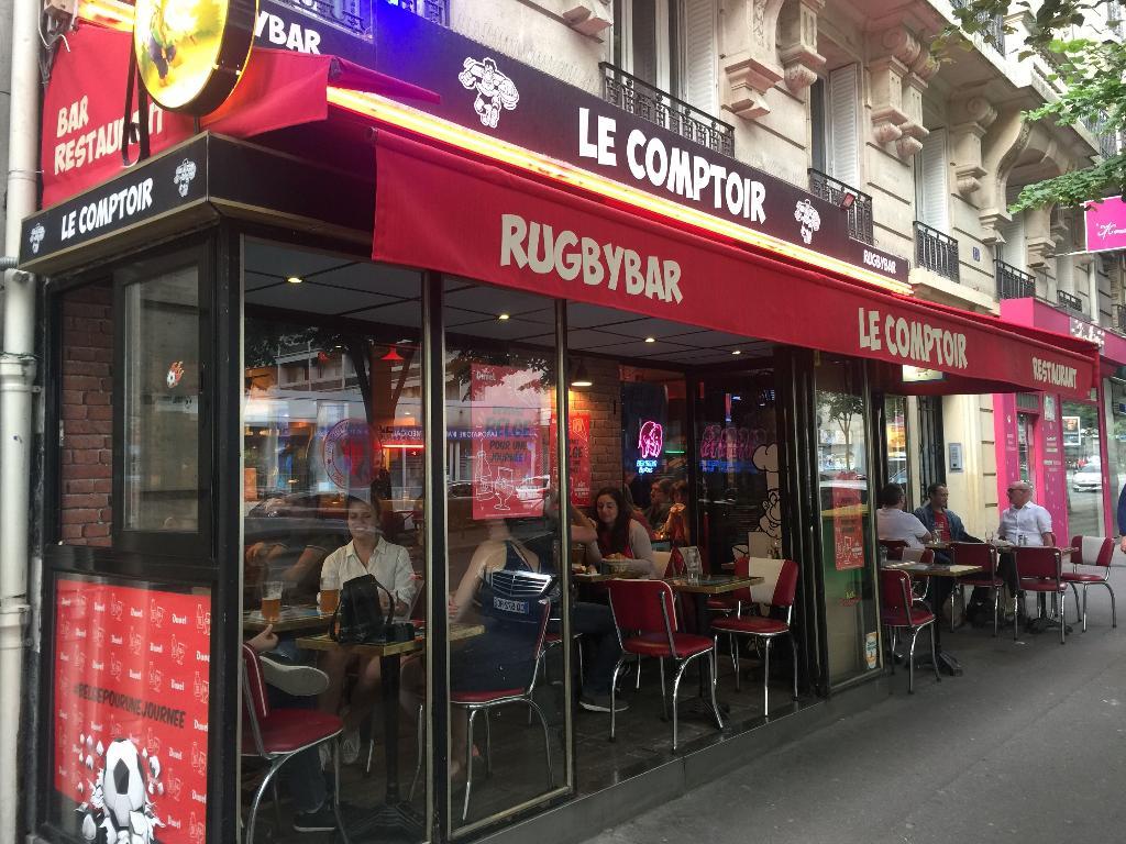 Le comptoir rugby bar restaurant 13 rue de vouill - Le comptoir des malletiers ...