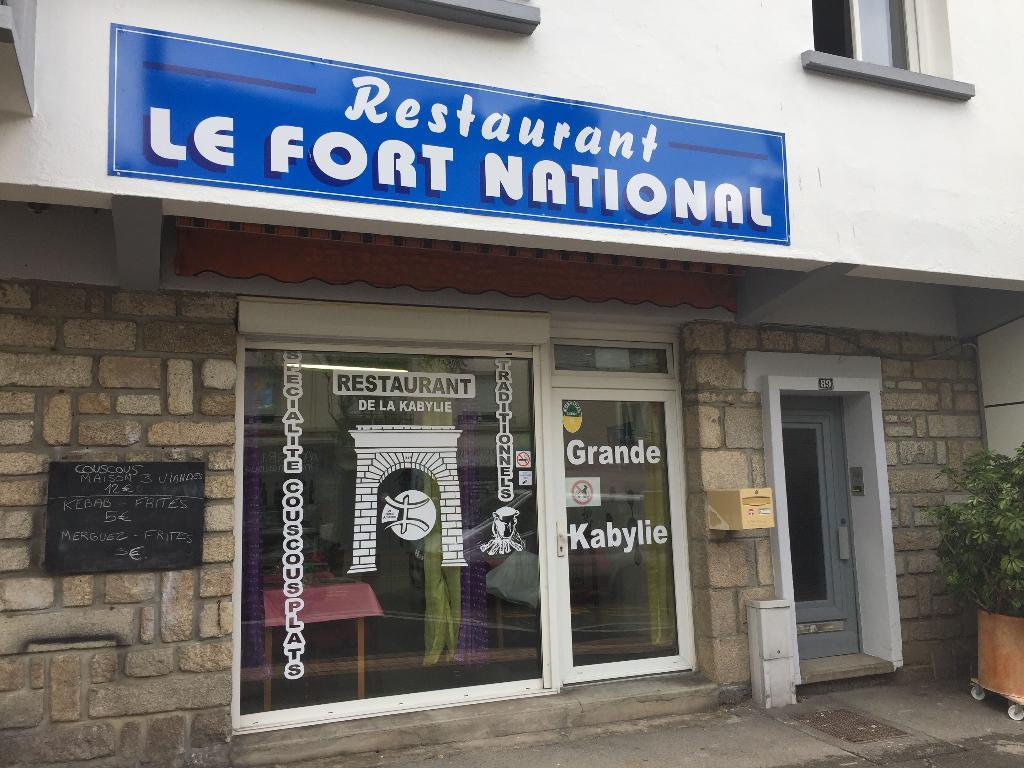 Le fort national restaurant 89 rue paul guieysse 56100 - Comptoir de la mer lorient ...