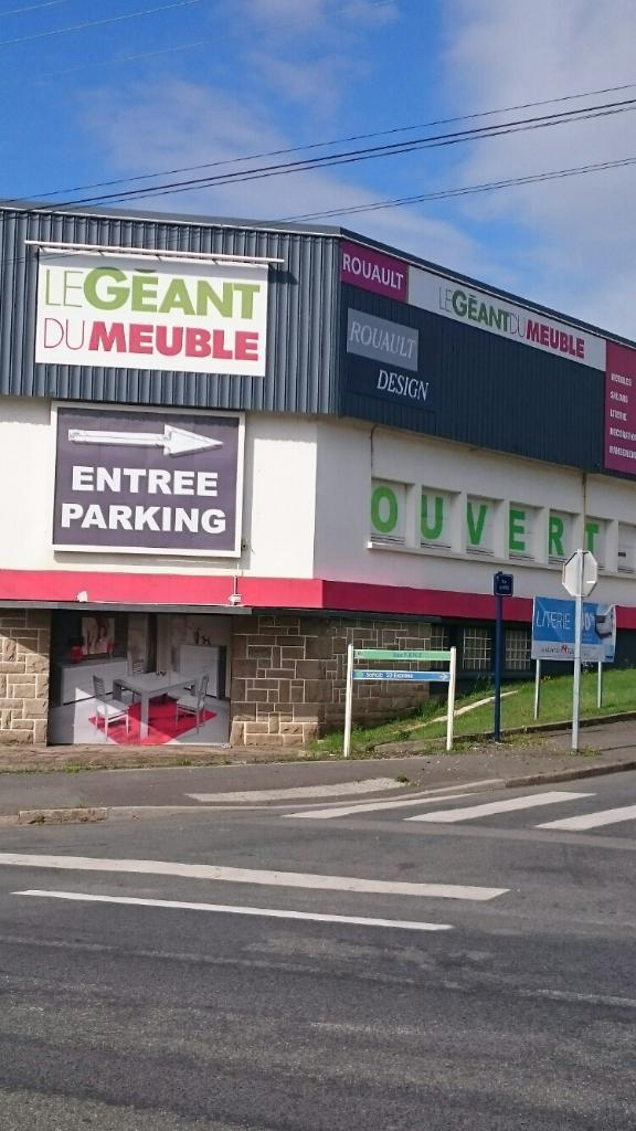 Le geant du meuble magasin de meubles 49 rue chaptal for Geant du meuble