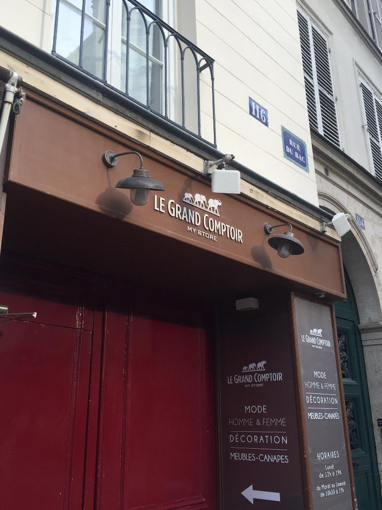 Le grand comptoir cadeaux 116 rue du bac 75007 paris adresse horaire - Horaires grand comptoir suresnes ...