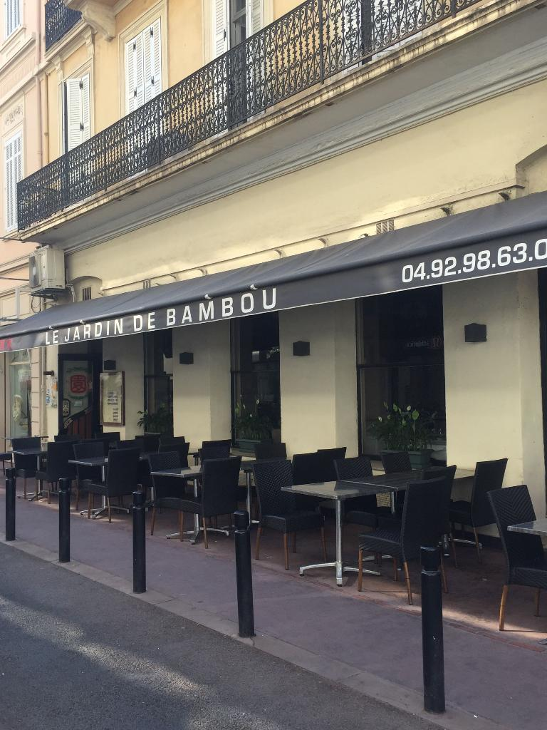 Le jardin de bambou restaurant 16 rue mac 06150 cannes for Restaurant le jardin cannes menu