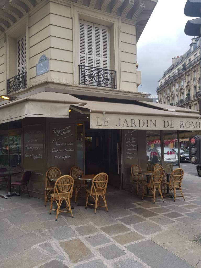 Le jardin de rome restaurant 52 rue de rome 75008 paris for Le jardin 489 rome