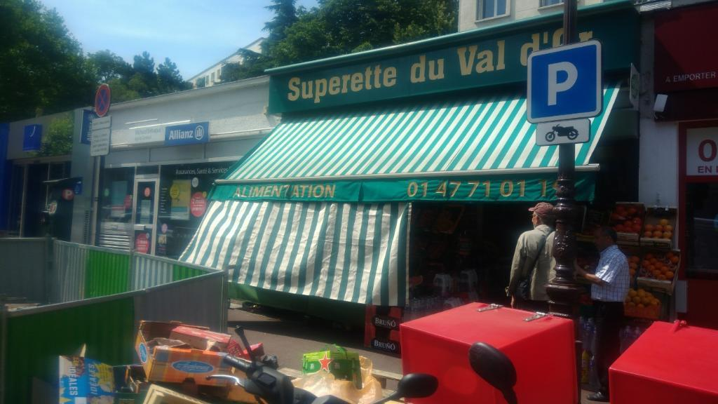 Le jardin de val dor alimentation g n rale 47 rue du mont val rien 92210 saint cloud - Parking porte de saint cloud ...
