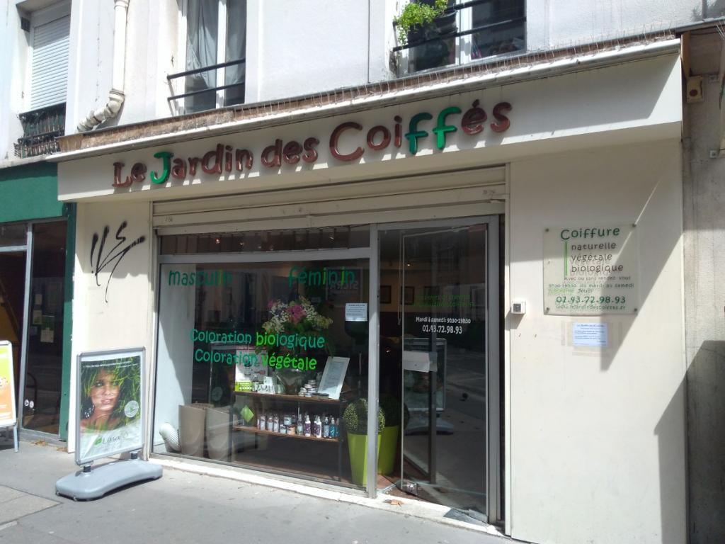 Le jardin des Coiffés - Coiffeur, 31 rue de Reuilly 75012 Paris ...