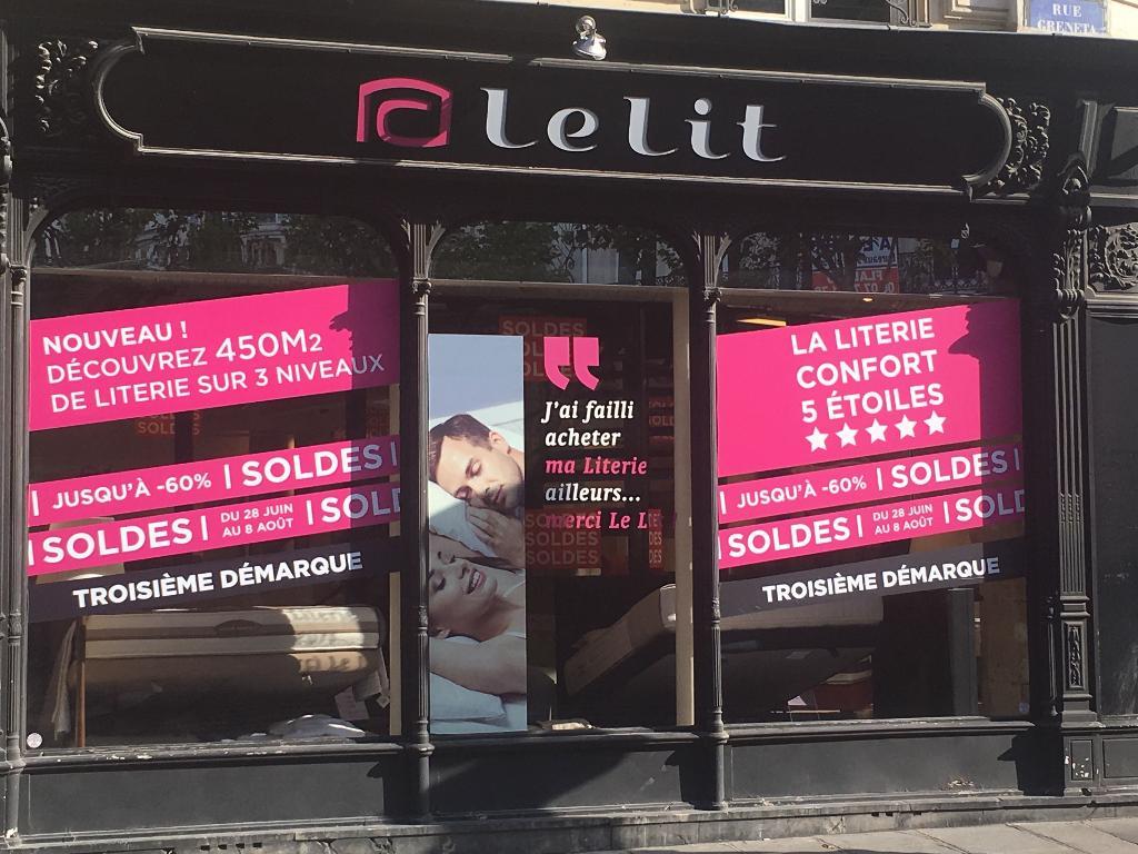 Le Lit - Magasin De Meubles, 80 Boulevard Sébastopol 75003 Paris - Adresse,  Horaire