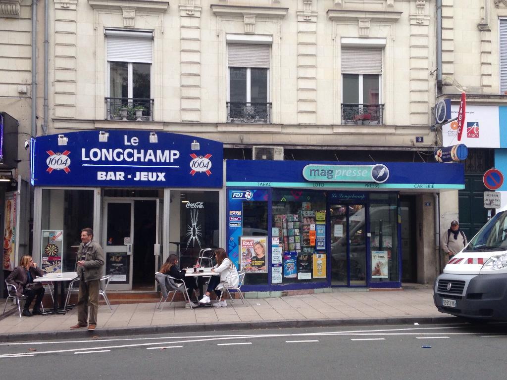 Le longchamp bureau de tabac 8 rue gare 49000 angers adresse horaire - Horaires bureau de tabac ...