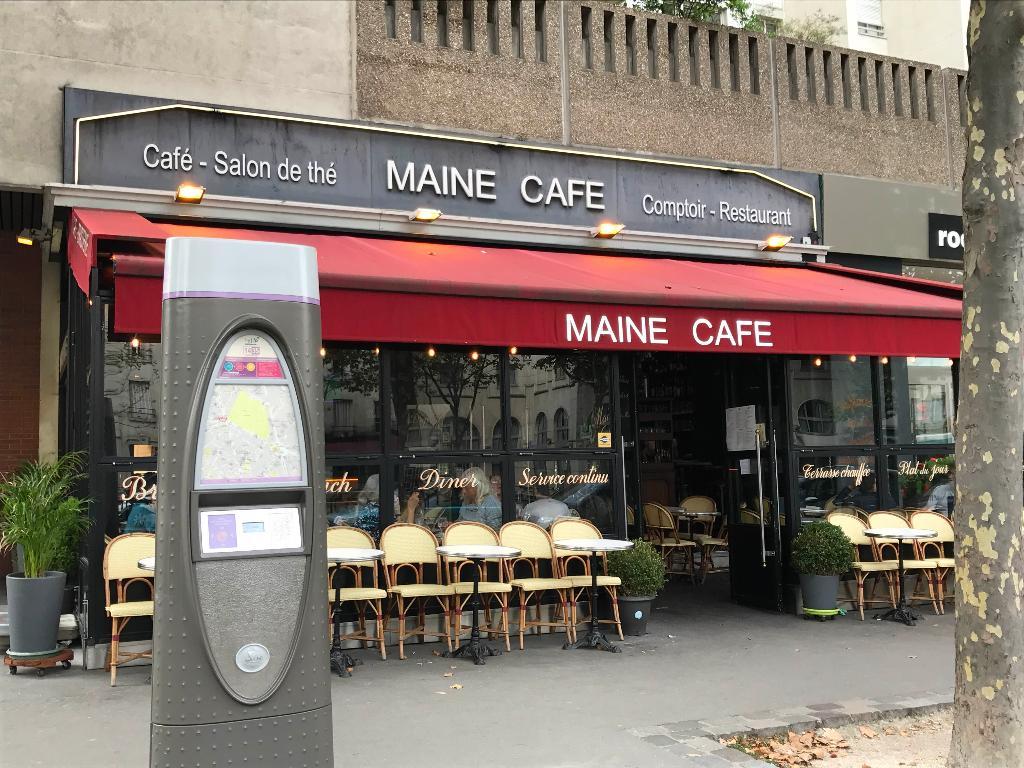 Le maine caf restaurant 88 avenue du maine 75014 paris for Garage avenue du maine