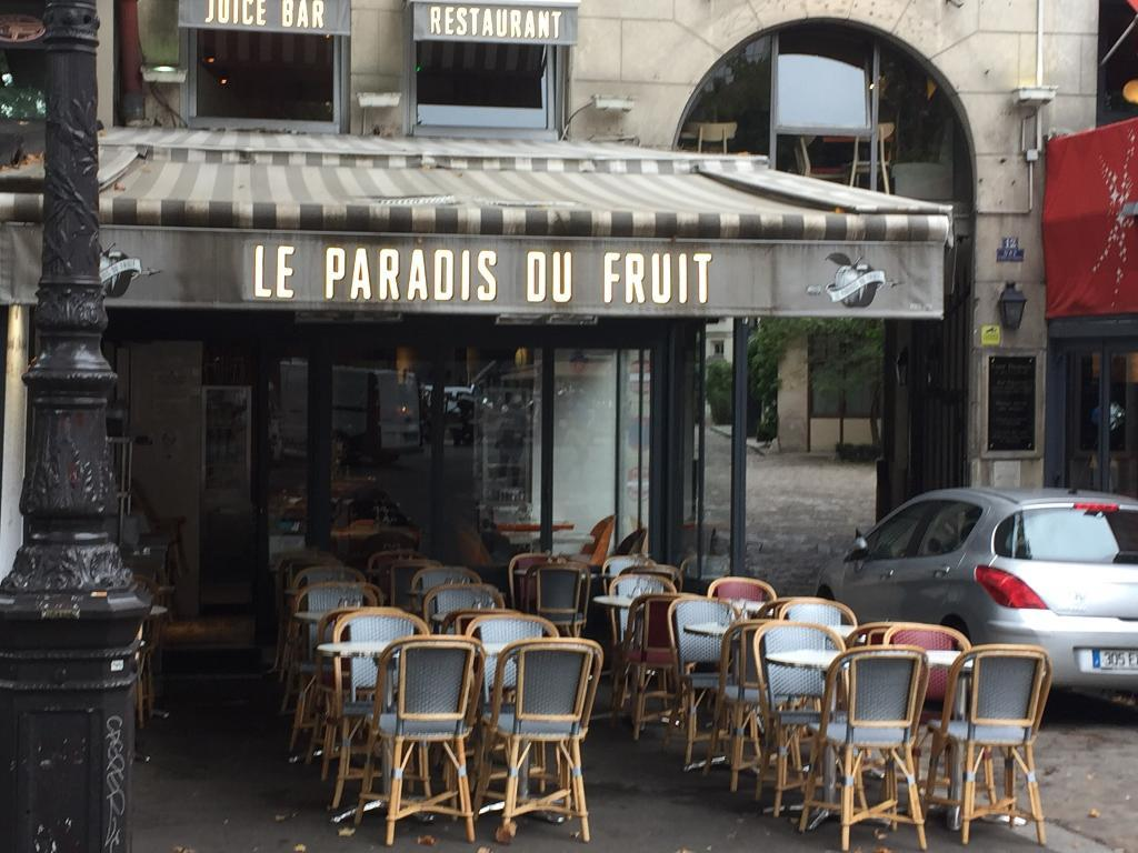 le paradis du fruit restaurant 12 place bastille 75011 paris adresse horaire. Black Bedroom Furniture Sets. Home Design Ideas