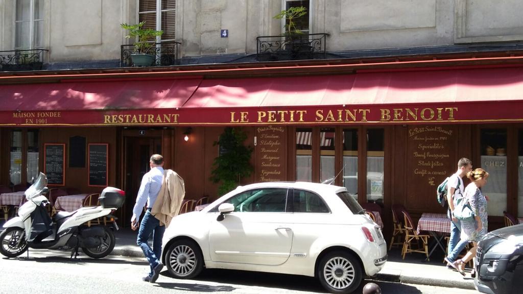 le petit saint benoit restaurant 4 rue saint beno t 75006 paris adresse horaire. Black Bedroom Furniture Sets. Home Design Ideas