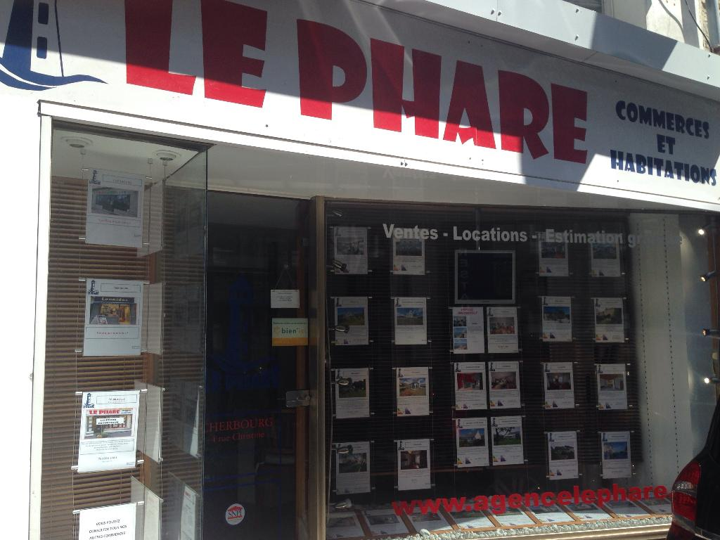 Le phare agence immobili re 4 rue christine 50100 for Agence immobiliere cherbourg
