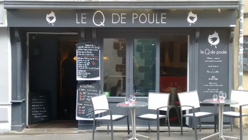 Restaurant Rennes Rue Vasselot