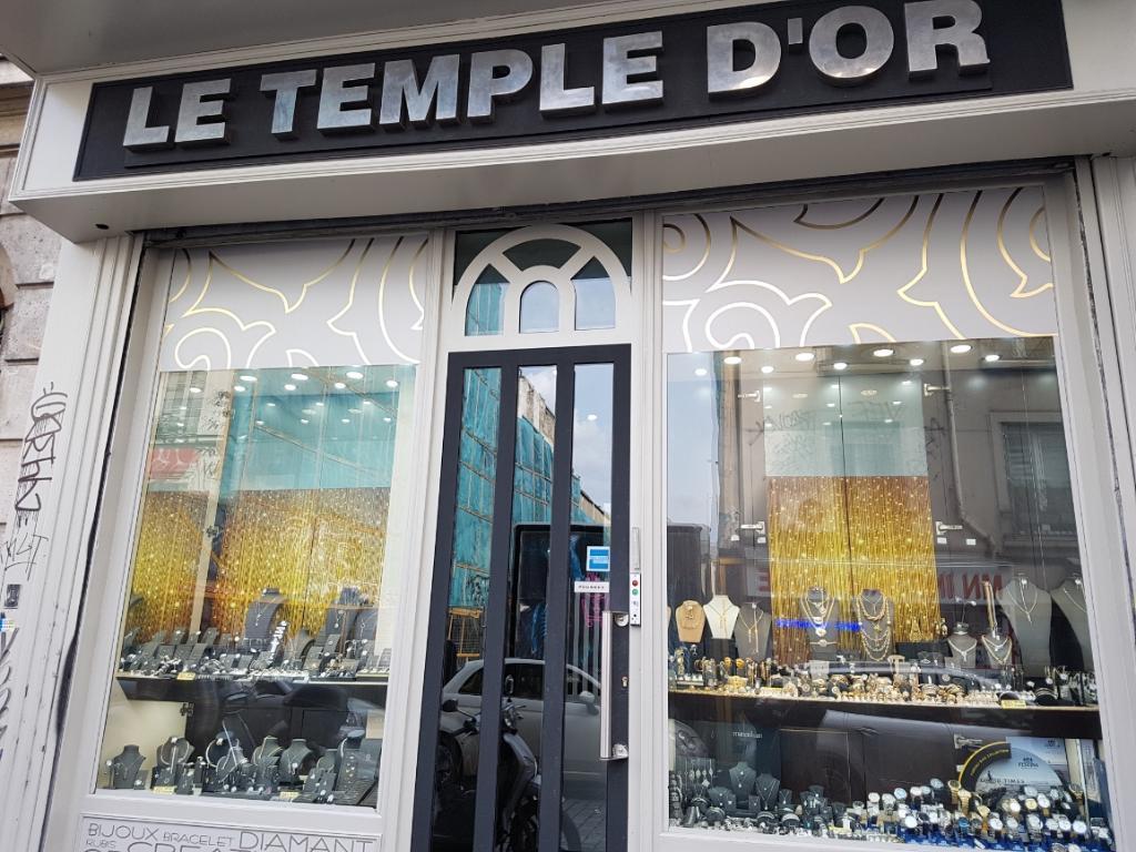 Bijouterie joaillerie rue du temple