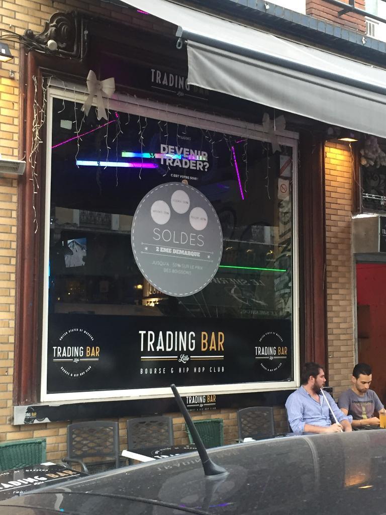 trading bar