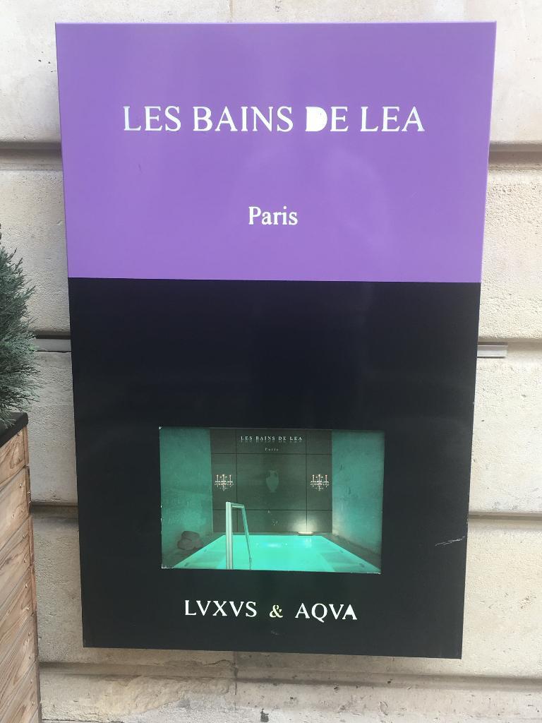 Les bains de l a institut de beaut 62 rue pierre for Bains de lea paris