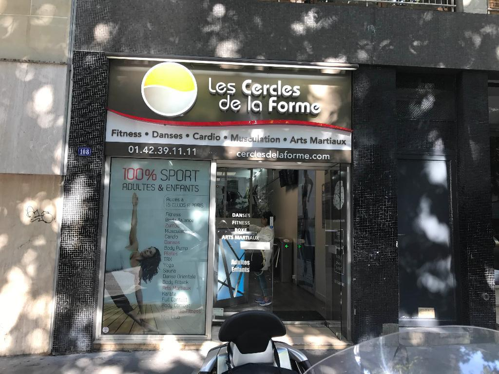les cercles de la forme infrastructure sports et loisirs 108 avenue simon bolivar 75019 paris. Black Bedroom Furniture Sets. Home Design Ideas