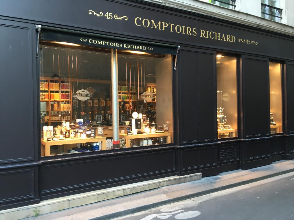 Comptoirs Richard Paris épicerie Fine Adresse Horaires Ouvert