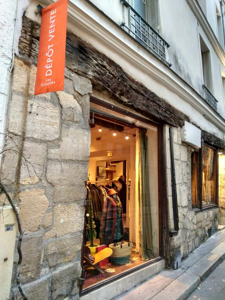 LES GINETTES - Dépôt-vente de vêtements, 4 rue du Sabot 75006 Paris ... a8e2247aba9