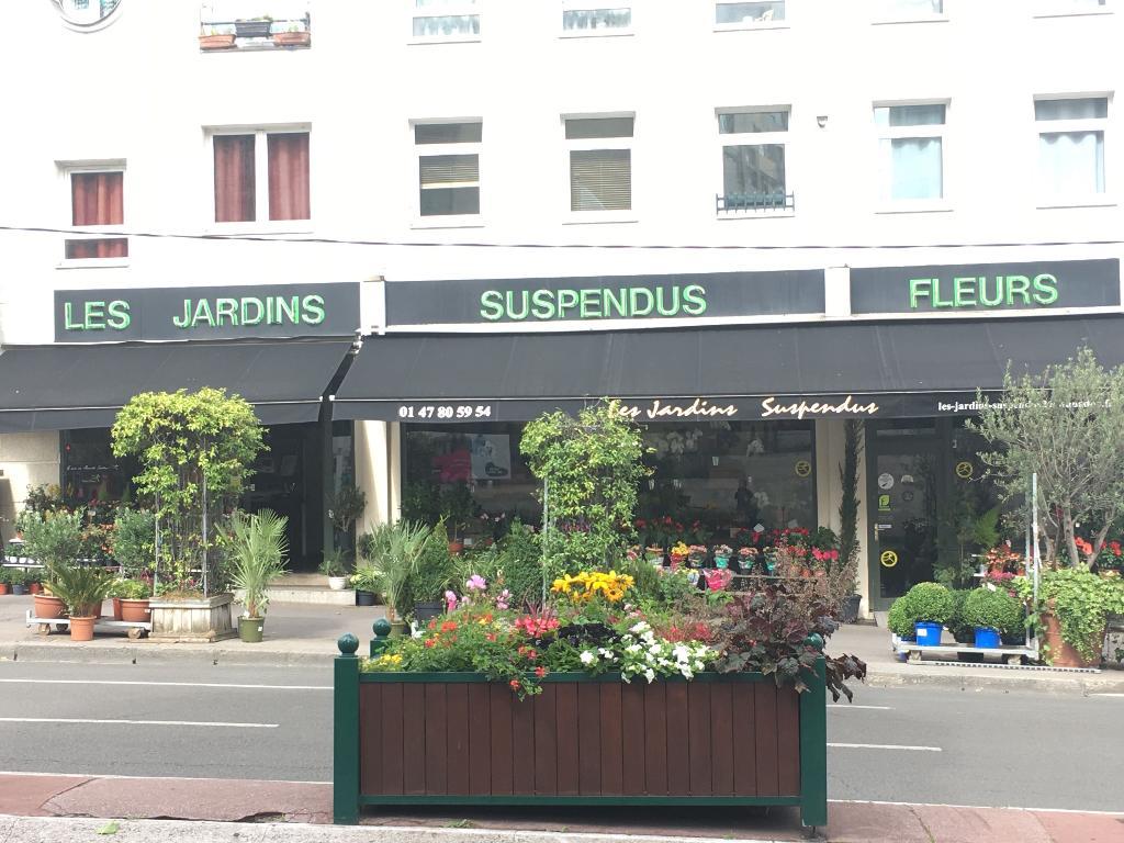 Les jardins suspendus fleuriste 3 rue de verdun 92700 for Jardin 54 rue de fecamp