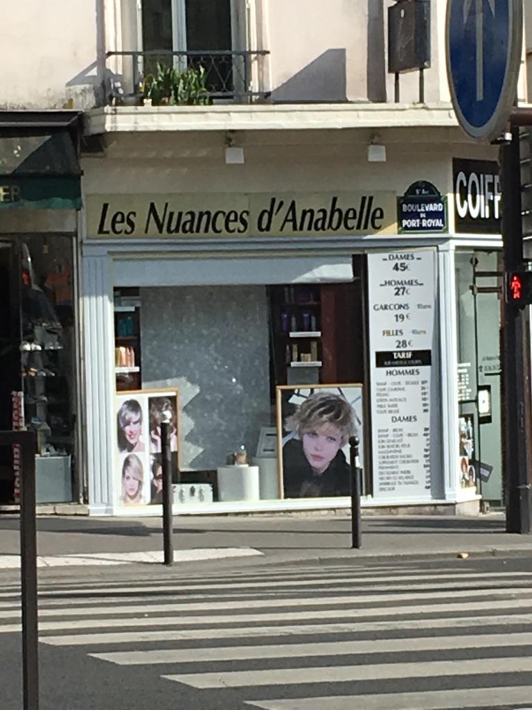 Les nuances d 39 anabelle coiffure coiffeur 98 boulevard de port royal 75005 paris adresse - Boulevard du port royal paris ...