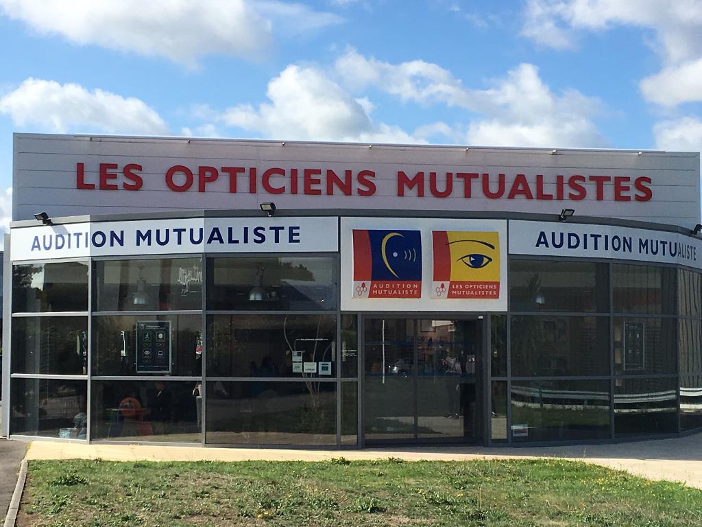 Opticiens Mutualistes - Opticien, allée des Cinq Continents 44120 ... b966cc983490