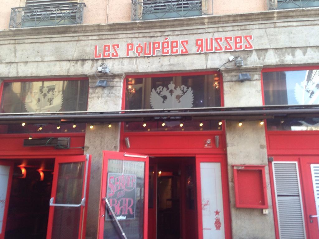 Les poup es russes restaurant 19 rue d sir e 69001 lyon for 9 rue du jardin des plantes 69001 lyon