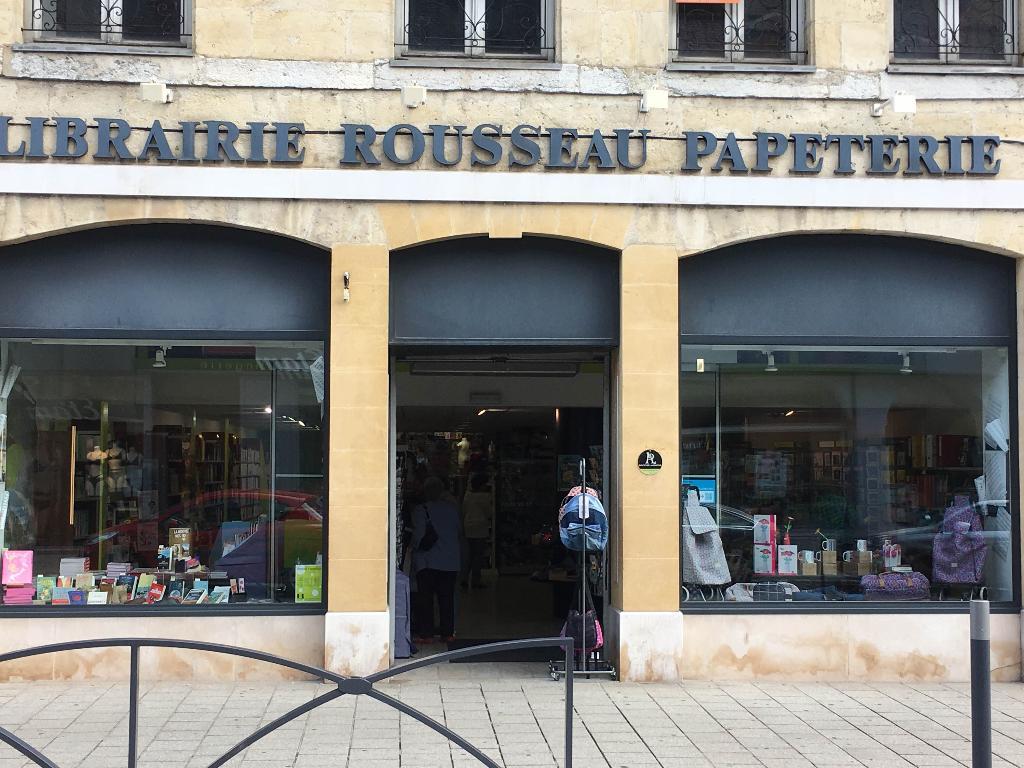 Librairie Papeterie Rousseau - Librairie, 20 rue République 25300 ...